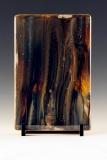 Kiln Formed Cameo Glass • Abby & Thia  (back)