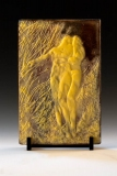 Kiln Formed Cameo Glass • Abby & Thia II