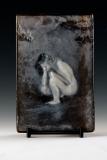 Kiln Formed Cameo Glass • Rose