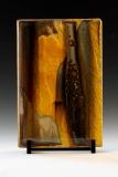 Kiln Formed Cameo Glass • Abby & Thia II (back)