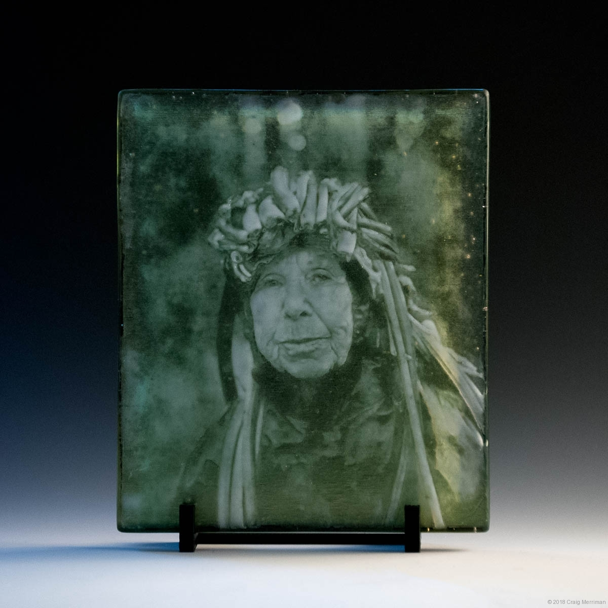 Astrid • Eyes as Big as Plates • Kiln Formed Cameo Glass