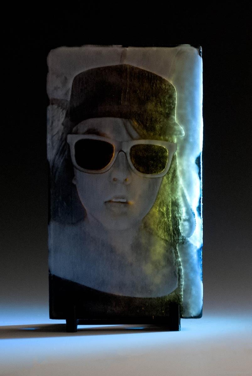 Madeline • Kiln Formed Cameo Glass