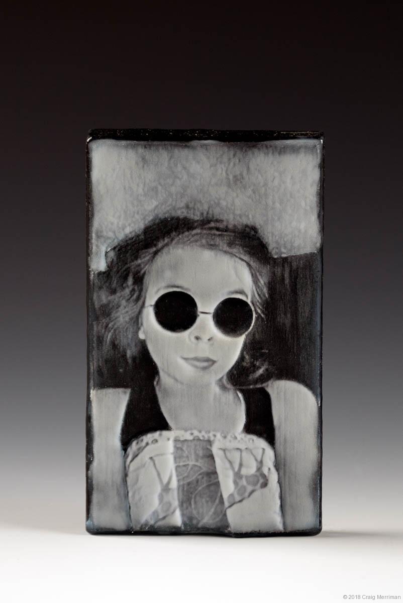 Madeline II • Kiln Formed Cameo Glass