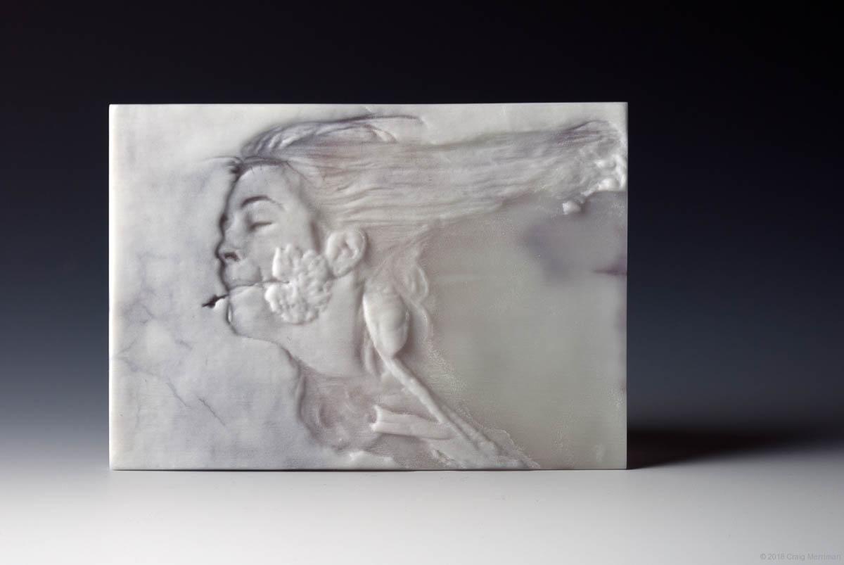 Laurie Gospodinovich • Kiln Formed Cameo Glass